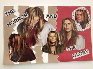 magazine cutout collage