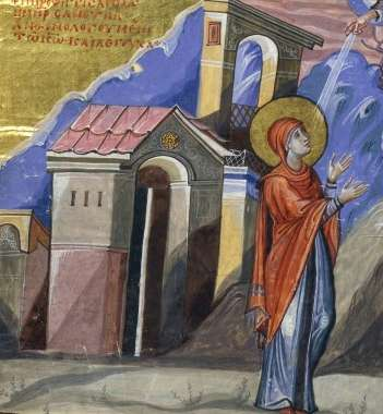 image of Hannah praying