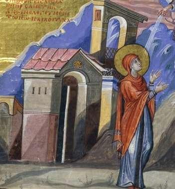 image of Hannah praying