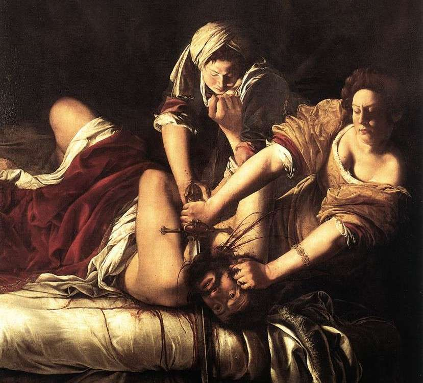 image of Judith slaying Holofernes