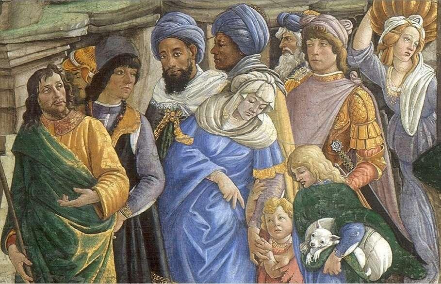 image of Israelites leaving Egypt