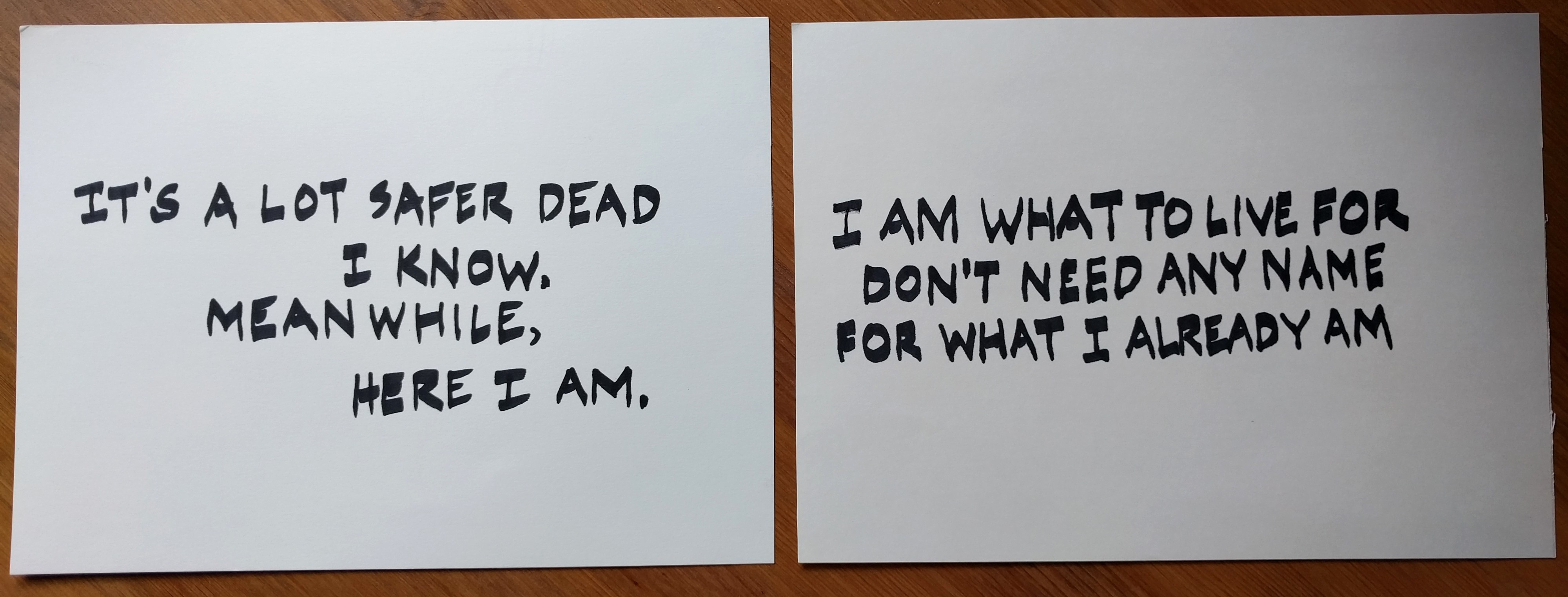 image of two poems